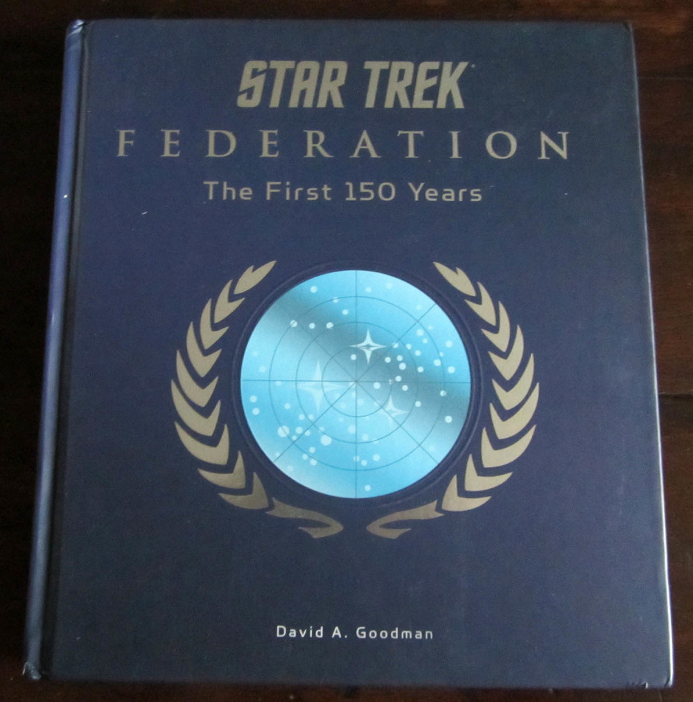 Fraai boek - Star Trek Federation: The First 150 Years