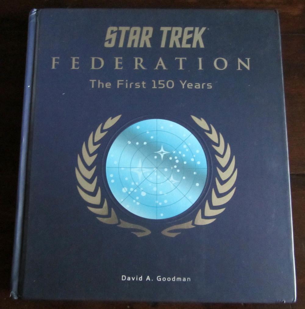 Fraai boek - Star Trek Federation: The First 150 Years