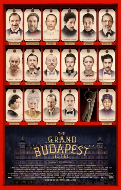 Tweede trailer & poster Wes Andersons 'The Grand Budapest Hotel' (aanrader!)
