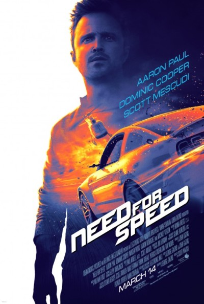 Eerste poster 'Need for Speed' met Aaron Paul