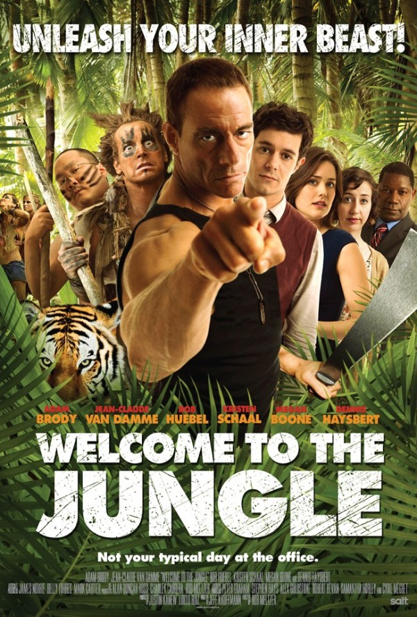 Jean-Claude Van Damme grapt er op los in trailer 'Welcome to the Jungle'