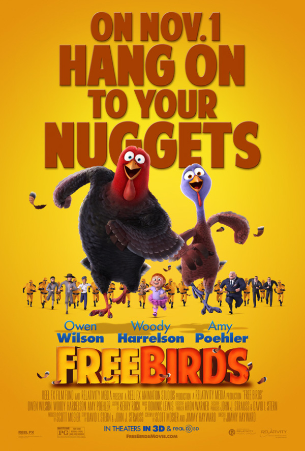 Trailer & poster 'Free Birds'