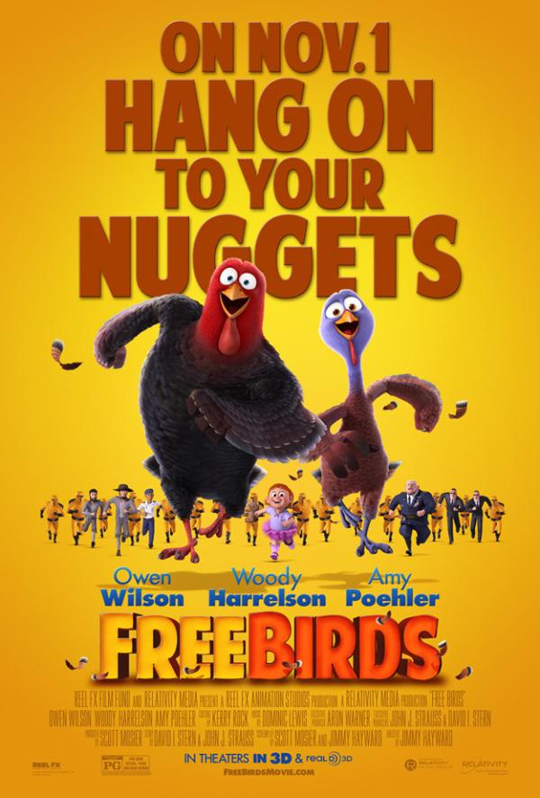 Trailer & poster 'Free Birds'
