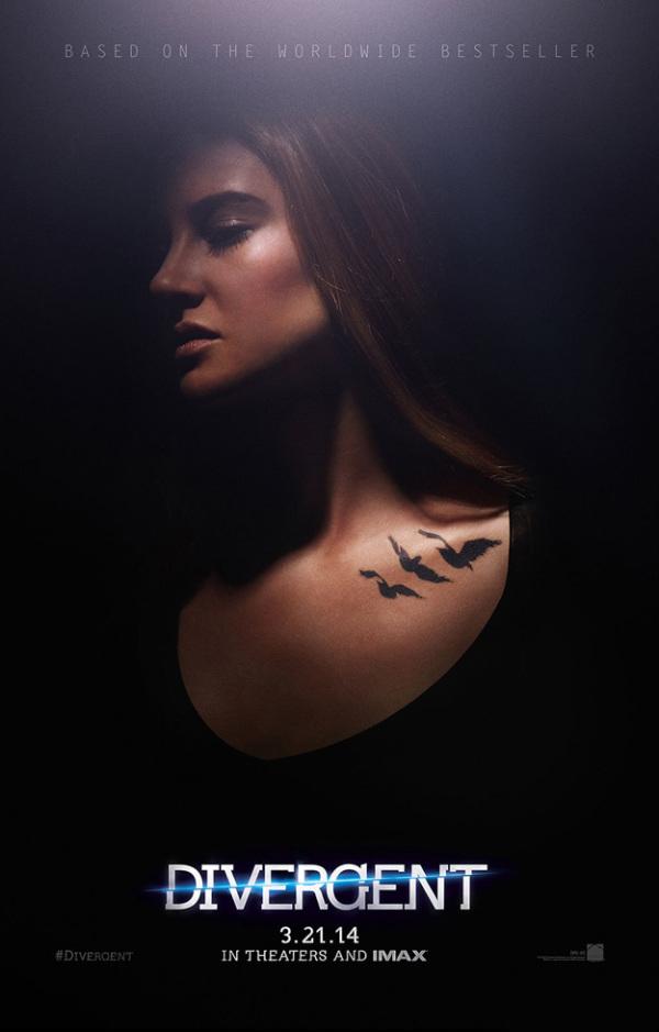 Twee splinternieuwe 'Divergent' posters