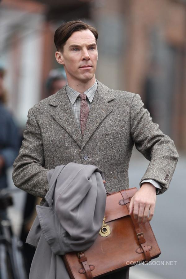 Eerste blik op Benedict Cumberbatch in 'The Imitation Game'