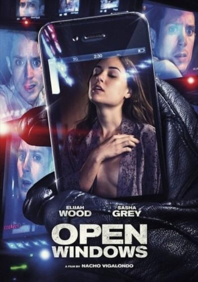 Trailer cyberthriller 'Open Windows' met pornoster Sasha Grey