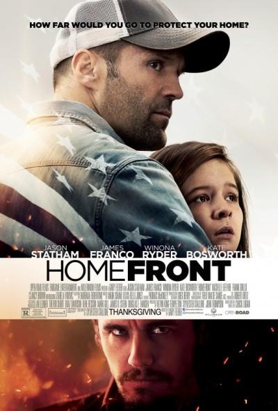 Jason Statham krijgt te maken met drugsbaas James Franco in de eerste 'Homefront' trailer