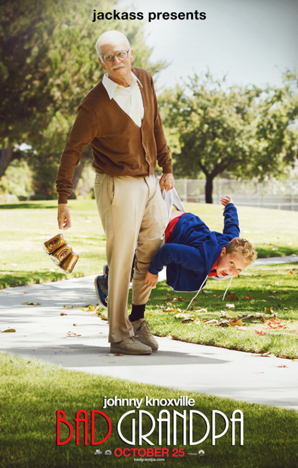 Eerste poster 'Jackass Presents: Bad Grandpa'