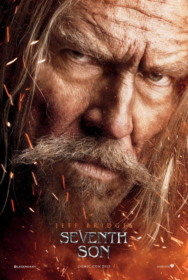 Jeff Bridges schittert op poster 'Seventh Son'