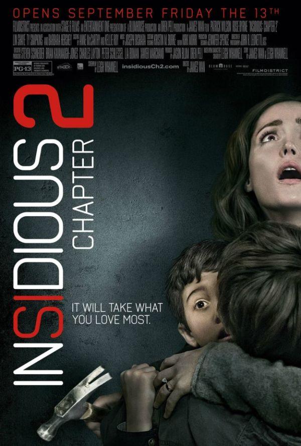 Eerste clip en nieuwe poster 'Insidious: Chapter 2