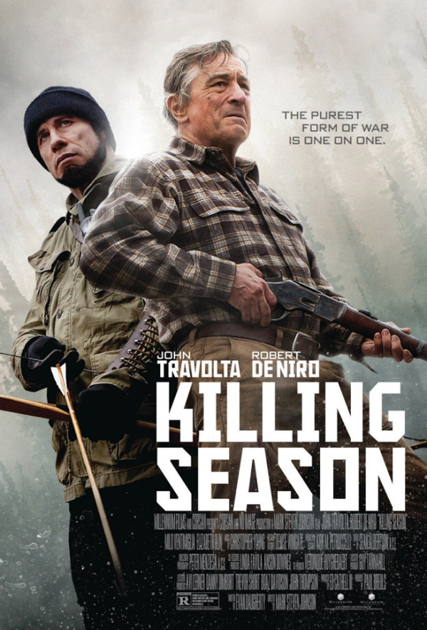Trailer 'Killing Season' met Robert De Niro en John Travolta