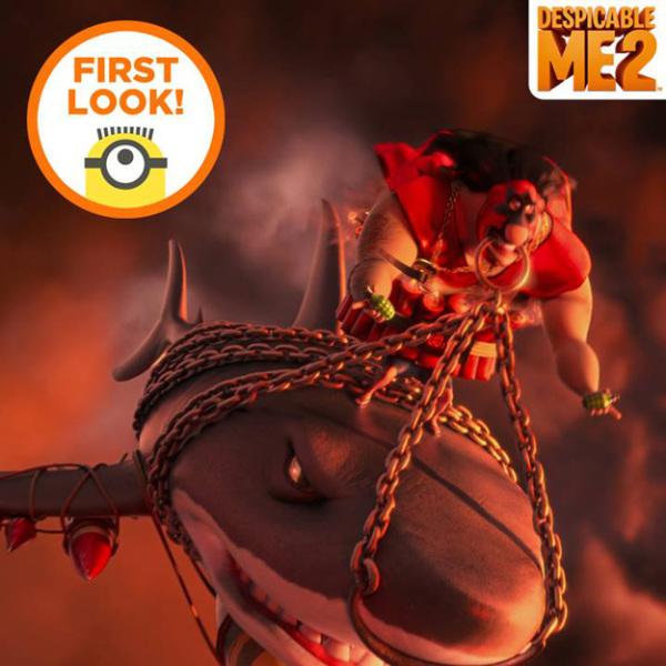 Eerste blik op 'Despicable Me 2'-schurk El Macho