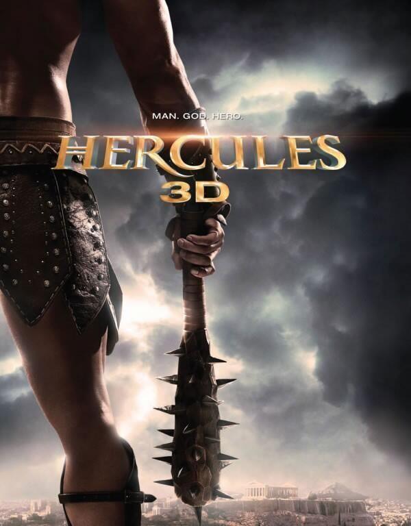 Eerste poster 'Hercules 3D'