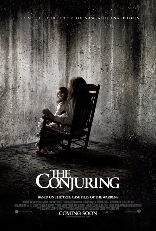 Enge taferelen op nieuwe poster 'The Conjuring'