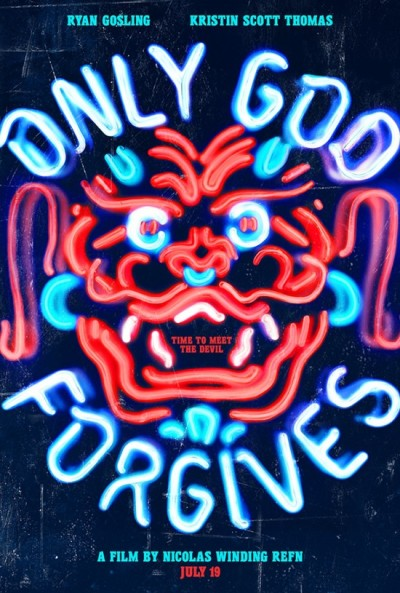 Prachtposter voor 'Only God Forgives'