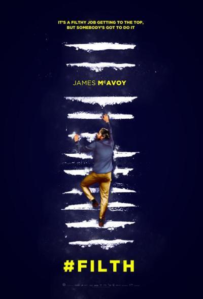 James mcAvoy draait volledig door in de eerste 'Filth' trailer