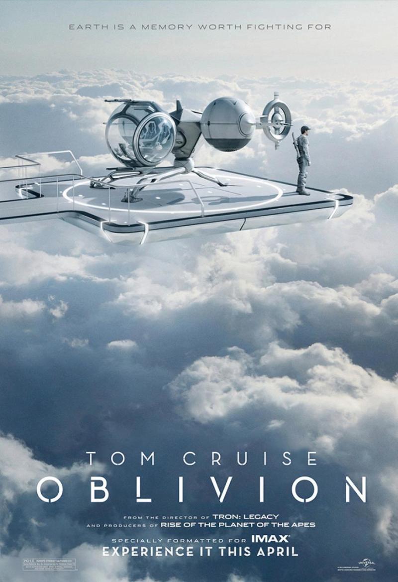 IMAX poster & featurette 'Oblivion'
