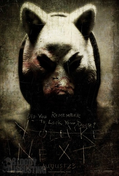 Drie griezelige posters 'You're Next' online