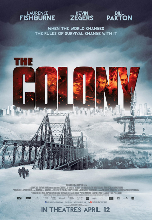 Trailer & poster sci-fi actiefilm 'The Colony'