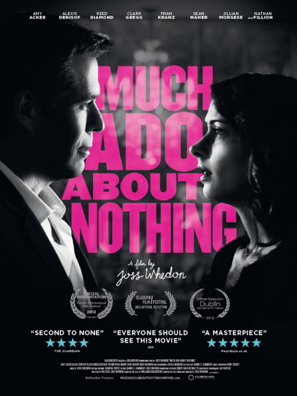 Trailer & poster 'Much Ado About Nothing'