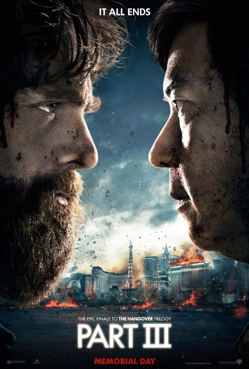 Eerste poster 'The Hangover Part III' knipoogt naar Harry Potter