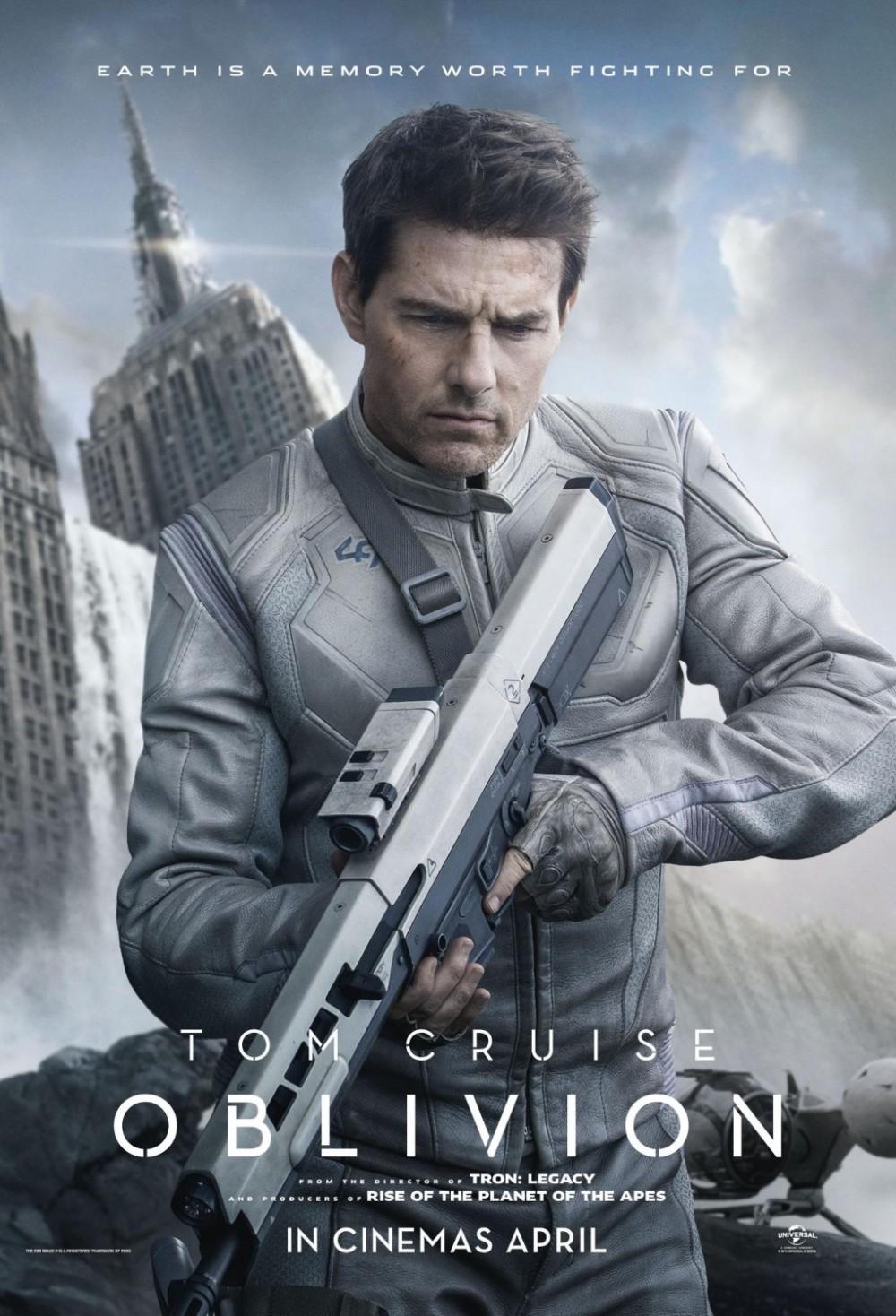 Nieuwe poster 'Oblivion'