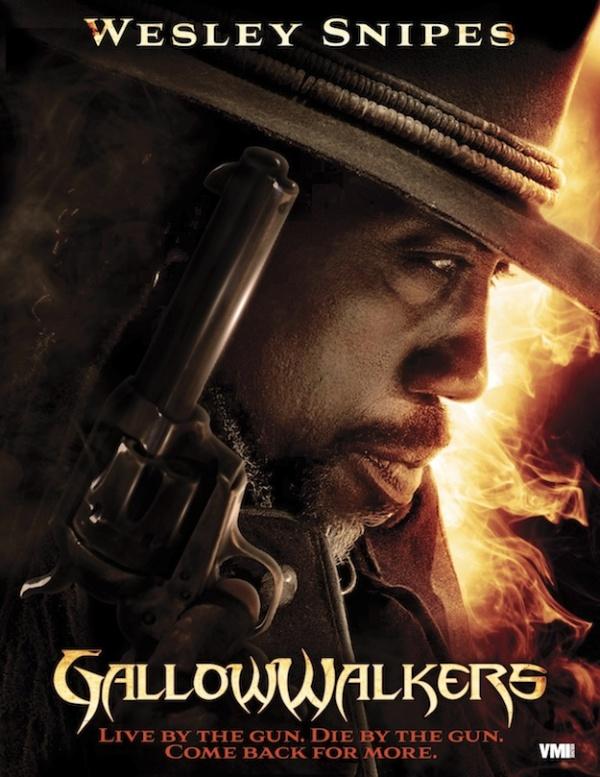 Eerste poster 'Gallowwalkers' met Wesley Snipes