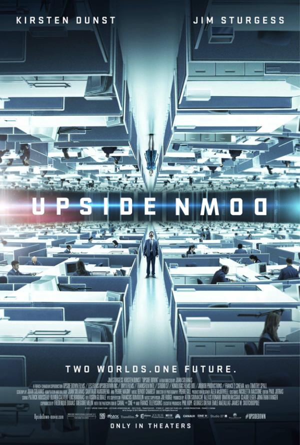 Nieuwe trailer en poster 'Upside Down'