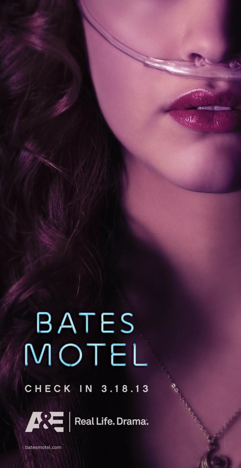 Vijf teaserposters 'Bates Motel'