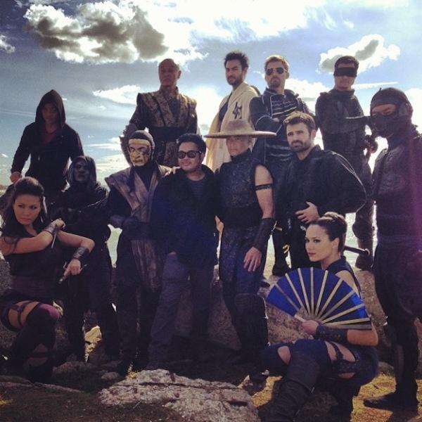 Castfoto van 'Mortal Kombat: Legacy 2'