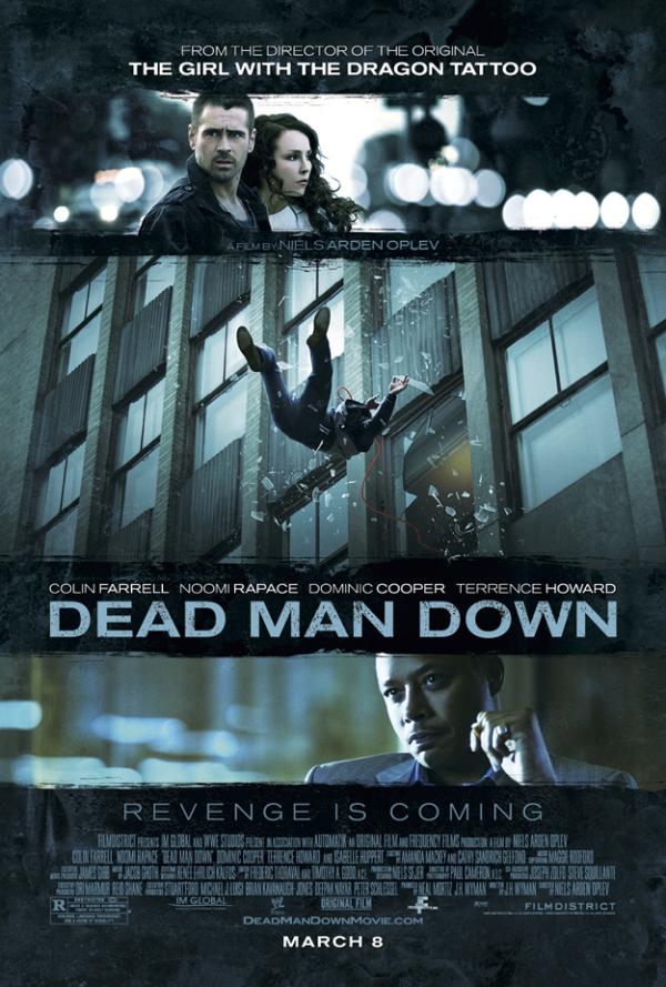 Nieuwe poster 'Dead Man Down'