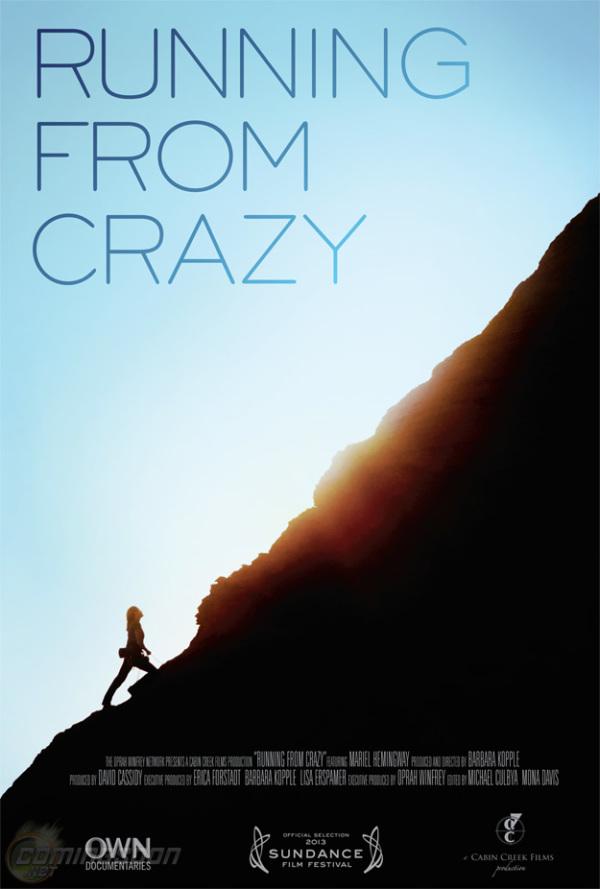 Eerste poster 'Running from Crazy'