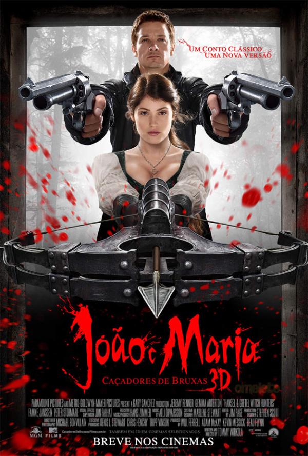 Nieuwe poster 'Hansel & Gretel: Witch Hunters'