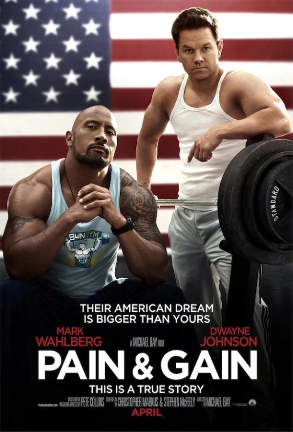 Poster van Michael Bay's 'Pain & Gain'
