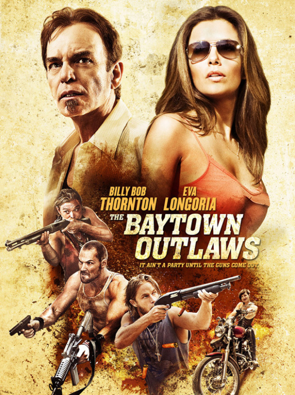 Trailer en poster 'The Baytown Outlaws'