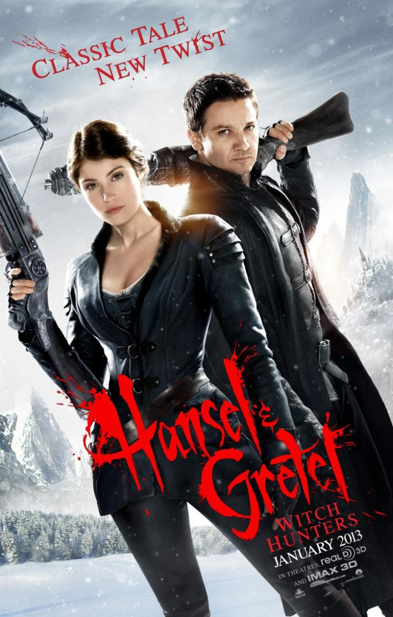Red band trailer & poster 'Hansel & Gretel: Witch Hunters'