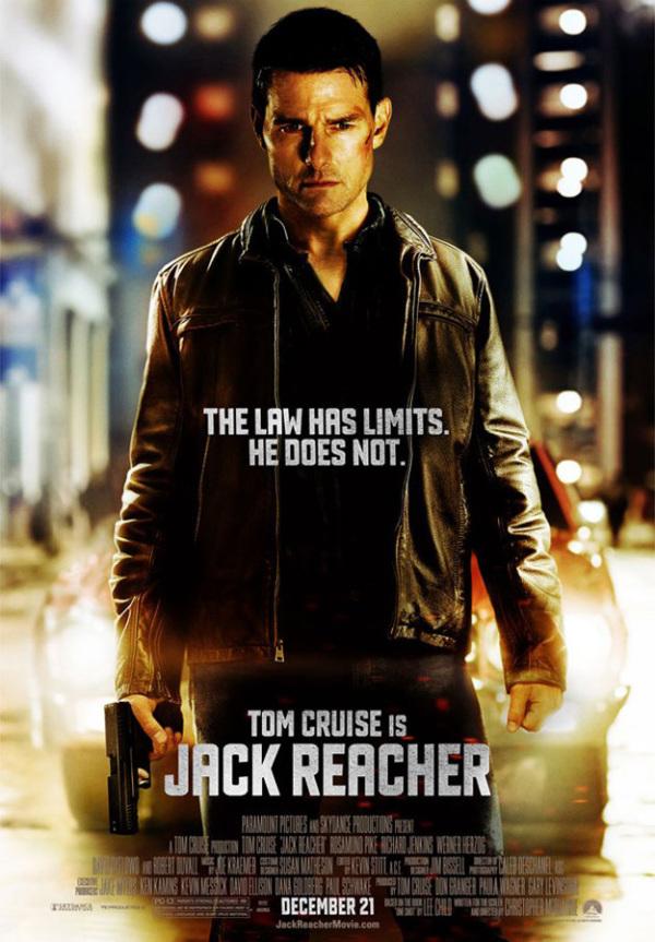 Nieuwe poster 'Jack Reacher'