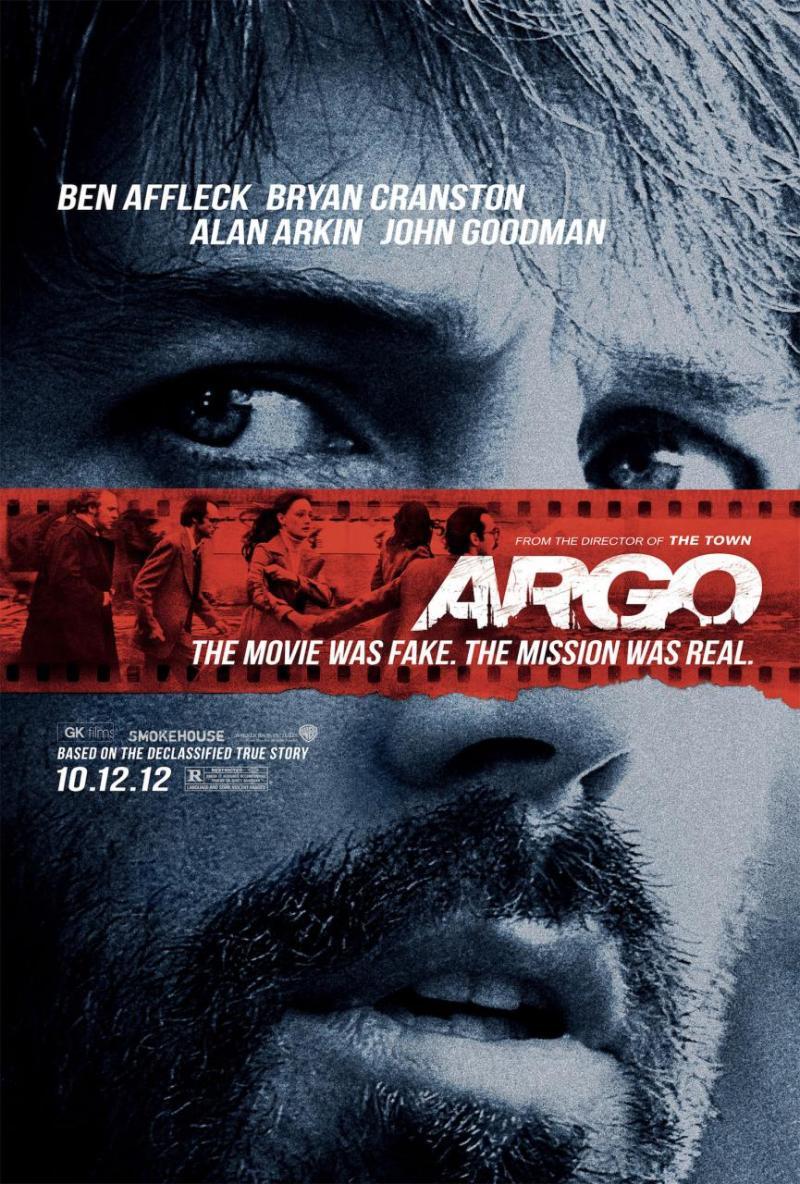 Definitieve poster Ben Afflecks 'Argo'