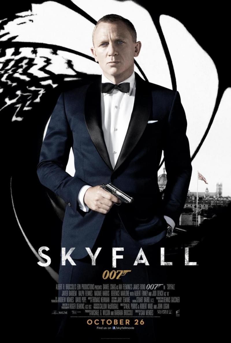 Nieuwe poster 'Skyfall'