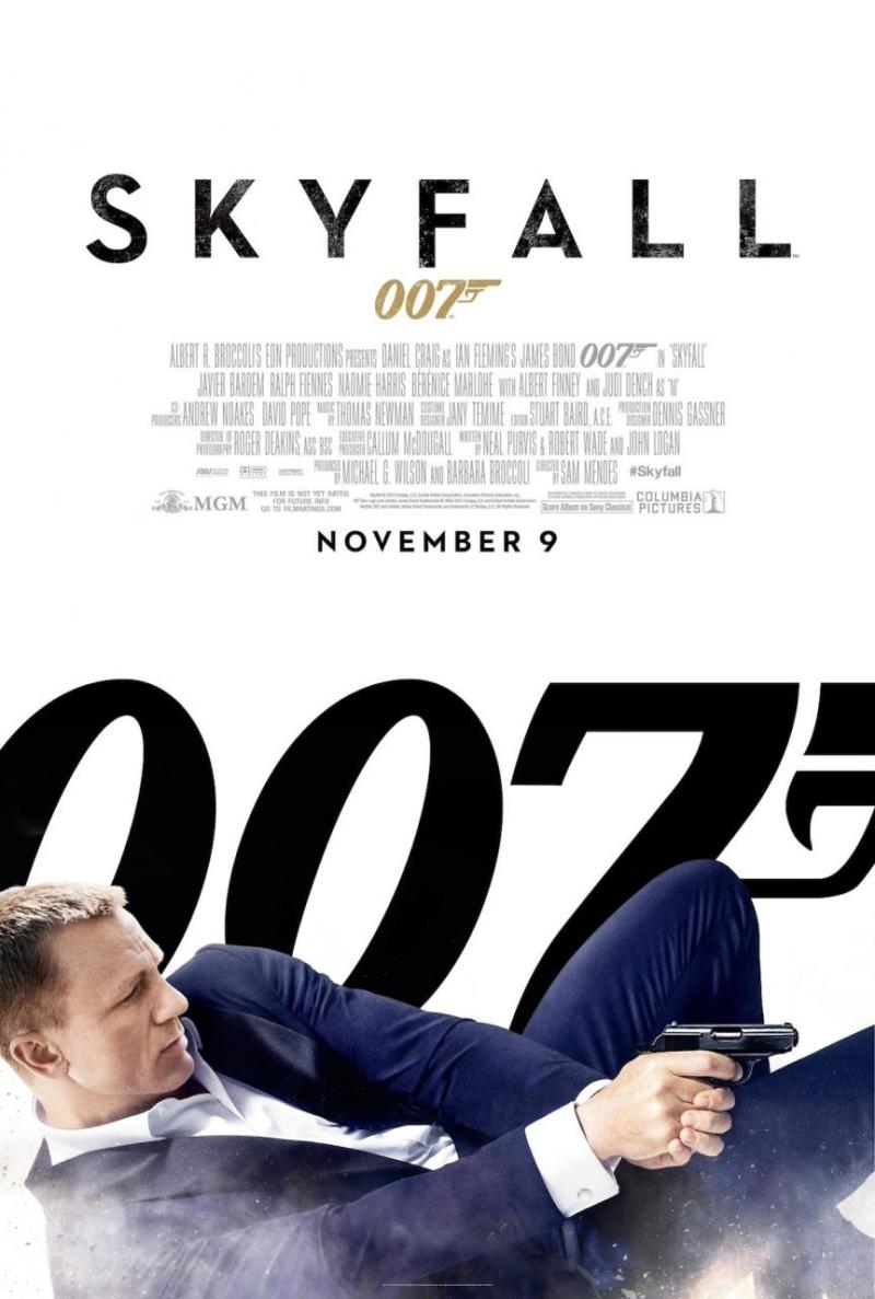 Poster & banners 'Skyfall'