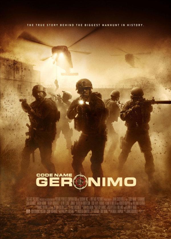 Eerste poster voor Osama Bin Laden film 'Code Name: Geronimo'