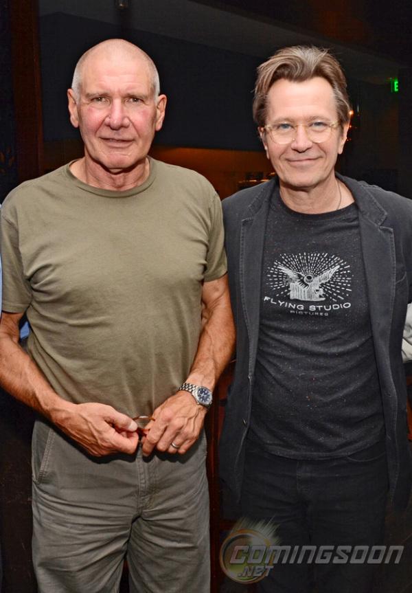 Eerste blik op Paranoia met Harrison Ford en Gary Oldman