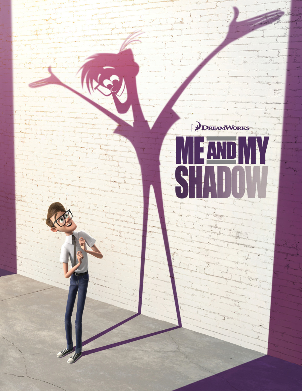 Poster Me and My Shadow