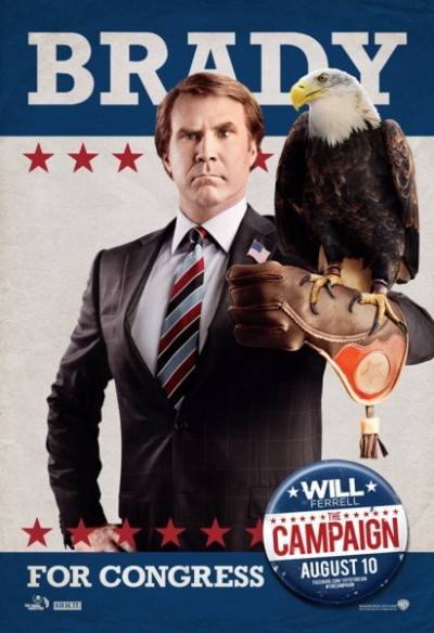 Nieuwe posters The Campaign