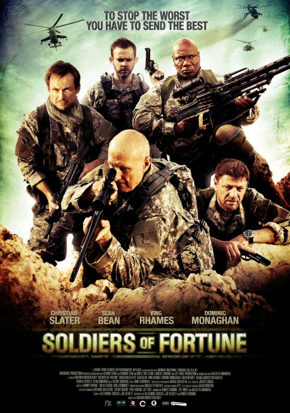 Poster en trailer Soldiers of Fortune (afrader)