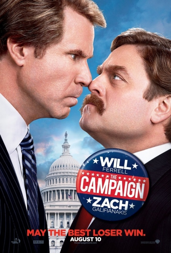 Nieuwe poster The Campaign