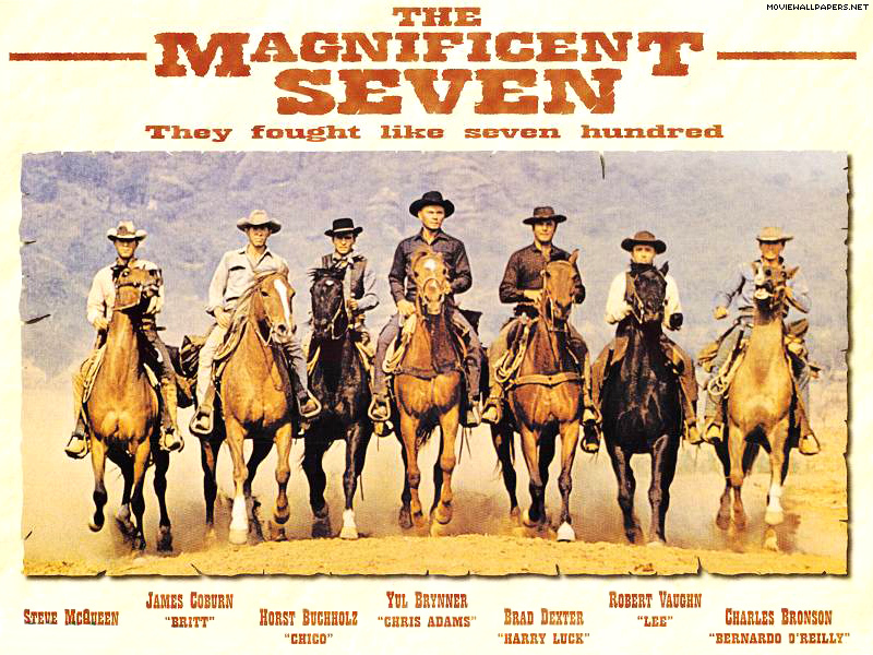 Remake The Magnificent Seven onderweg
