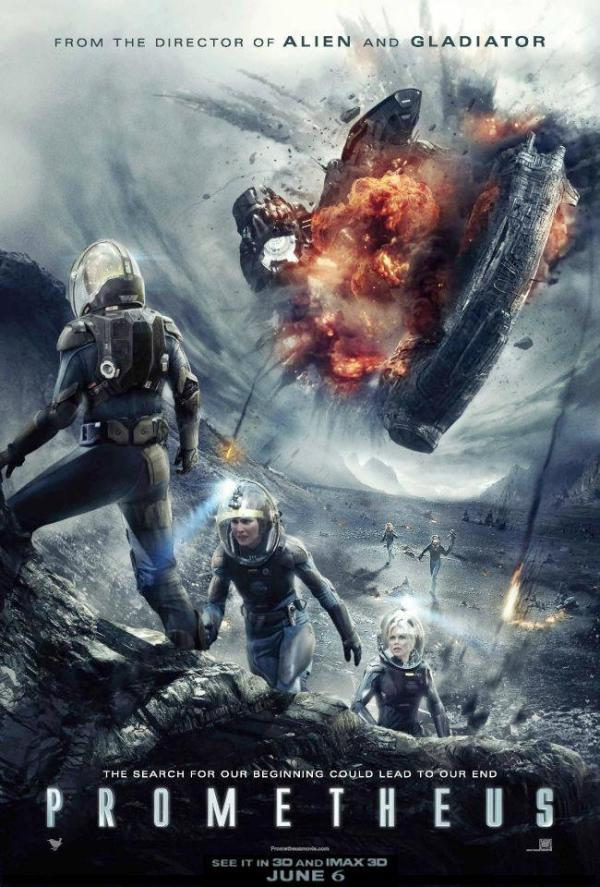 Fraaie & onthullende poster Prometheus!