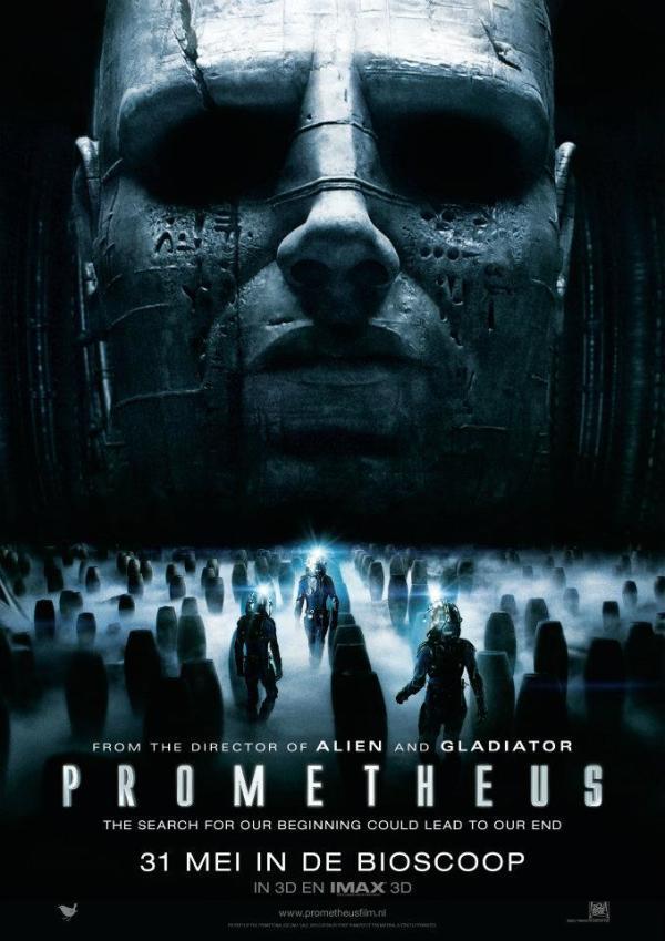Nieuwe Nederlandse poster Prometheus