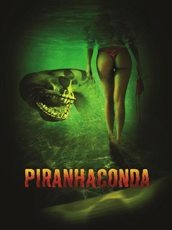 Piranhaconda trailer (afrader!)